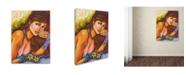 "Trademark Global Victoria Mio 'Hermoso' Canvas Art - 14"" x 19"""