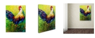 """Trademark Global Marion Rose 'CEO Rooster' Canvas Art - 14"""" x 19"""""""