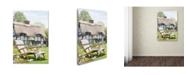 "Trademark Global The Macneil Studio 'Cottage' Canvas Art - 12"" x 19"""