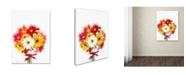 """Trademark Global The Macneil Studio 'Gerberas' Canvas Art - 14"""" x 19"""""""
