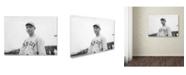 "Trademark Global Lantern Press 'People 46' Canvas Art - 14"" x 19"""