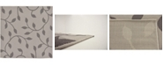 Bridgeport Home Pashio Pas4 Gray 6' x 6' Square Area Rug
