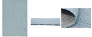 Bridgeport Home Pashio Pas6 Aquamarine 7' x 10' Area Rug