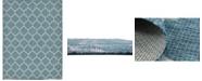 Bridgeport Home Pashio Pas5 Teal 9' x 12' Area Rug