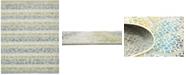 Bridgeport Home Pashio Pas4 Ivory 8' x 10' Area Rug