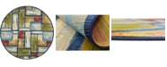 Bridgeport Home Pashio Pas1 Multi 8' x 8' Round Area Rug