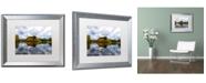 """Trademark Global PIPA Fine Art 'Autumn Reflections' Matted Framed Art - 16"""" x 20"""""""