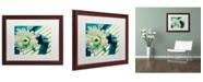 """Trademark Global PIPA Fine Art 'Melancholy Flower' Matted Framed Art - 16"""" x 20"""""""
