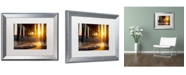 "Trademark Global PIPA Fine Art 'Sea Foam In The Sunlight' Matted Framed Art - 16"" x 20"""