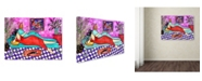 "Trademark Global Wyanne 'Big Diva New Diamond Ring' Canvas Art - 18"" x 24"""