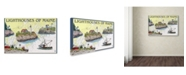 "Trademark Global Lantern Press 'Destination 1' Canvas Art - 16"" x 24"""