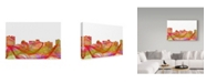 "Trademark Global Marlene Watson 'Arlington Texas Skyline' Canvas Art - 16"" x 24"""