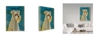 """Trademark Global John W. Golden 'Schnauzer' Canvas Art - 18"""" x 24"""""""