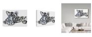 "Trademark Global Mark Adlington 'Spotty Leopard Cub' Canvas Art - 16"" x 24"""