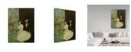 "Trademark Global Jean Louis Forain 'Behind The Scenes' Canvas Art - 24"" x 18"""