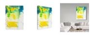 "Trademark Global Jennifer Mccully 'The Quiet Flight' Canvas Art - 14"" x 19"""