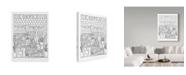 "Trademark Global Jessica Putnam 'French Cafe' Canvas Art - 24"" x 32"""