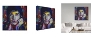 "Trademark Global Howie Green 'Paul Mccartney Portrait' Canvas Art - 24"" x 24"""