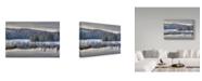 "Trademark Global Ian Tornquist 'Fog On The Water' Canvas Art - 24"" x 16"""