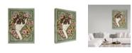 "Trademark Global Jan Benz 'A Walk On The Wild Side' Canvas Art - 24"" x 32"""