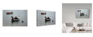 "Trademark Global J.D. Mcfarlan 'Bonaire 2' Canvas Art - 24"" x 16"""