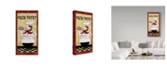 "Trademark Global Jean Plout 'Chefs 1' Canvas Art - 12"" x 24"""