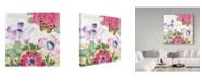 """Trademark Global Jean Plout 'Summer Postcard 3' Canvas Art - 24"""" x 24"""""""