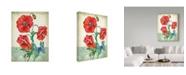 """Trademark Global Jean Plout 'Summertime Botanicals 2' Canvas Art - 14"""" x 19"""""""