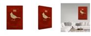 "Trademark Global Red Atlas Designs 'State Animal Ohio' Canvas Art - 16"" x 24"""