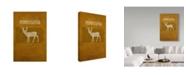 "Trademark Global Red Atlas Designs 'State Animal Pennsylvania' Canvas Art - 22"" x 32"""
