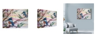 "Trademark Global Lauren Moss 'Of Fishers And Kings' Canvas Art - 19"" x 14"""