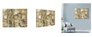 """Trademark Global Marietta Cohen Art And Design 'Abstract Beige' Canvas Art - 19"""" x 14"""""""
