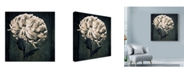 "Trademark Global Michael Harrison 'Mum Texture' Canvas Art - 18"" x 18"""