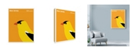 "Trademark Global Print Collection - Artist 'New Jersey Bird Eastern Goldfinch' Canvas Art - 18"" x 24"""