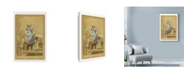 "Trademark Global Philippe Debongnie 'Family Album Apolline' Canvas Art - 12"" x 19"""