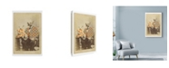 "Trademark Global Philippe Debongnie 'Family Album Richard & Lison' Canvas Art - 22"" x 32"""