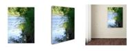 "Trademark Global Monica Fleet 'Lani' Canvas Art - 19"" x 14"""