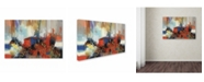 "Trademark Global Masters Fine Art 'Swan' Canvas Art - 30"" x 47"""