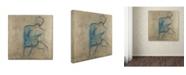 "Trademark Global Joarez 'Iron Man' Canvas Art - 24"" x 24"""