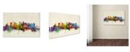 "Trademark Global Michael Tompsett 'Tokyo Japan Skyline II' Canvas Art - 30"" x 47"""