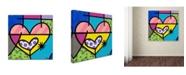 "Trademark Global Roberto Rafael 'Big Heart I' Canvas Art - 35"" x 35"""