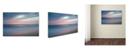 """Trademark Global PIPA Fine Art 'The Colors of Evening on the Beach' Canvas Art - 30"""" x 47"""""""