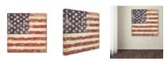 """Trademark Global Stephanie Marrott 'USA Flag' Canvas Art - 35"""" x 35"""""""