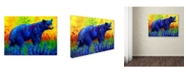"""Trademark Global Marion Rose 'Loafing In The Lupin' Canvas Art - 35"""" x 47"""""""