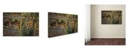 "Trademark Global Erik Brede 'Long Term Parking' Canvas Art - 22"" x 32"""