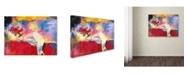 "Trademark Global Richard Wallich 'Mac' Canvas Art - 35"" x 47"""