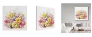 "Trademark Global Janneke Brinkman-Salentijn 'September Bouquet Multicolor' Canvas Art - 24"" x 24"""