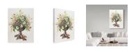 "Trademark Global Janneke Brinkman-Salentijn 'February Bouquet' Canvas Art - 24"" x 32"""