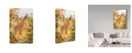 "Trademark Global Joanne Porter 'Giraffes' Canvas Art - 22"" x 32"""