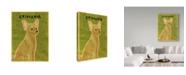 "Trademark Global John W. Golden 'Chihuahua Gold' Canvas Art - 35"" x 47"""